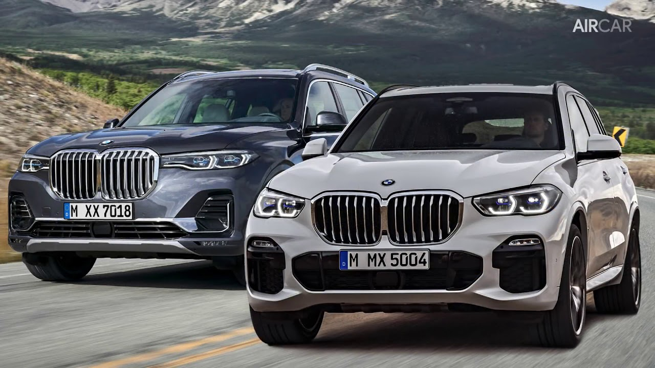 2019 bmw x7 vs x5 design  u0026 dimensions comparison