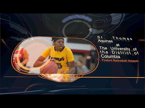 Women's Basketball: St  Thomas Aquinas College  vs University of the District of Columbia