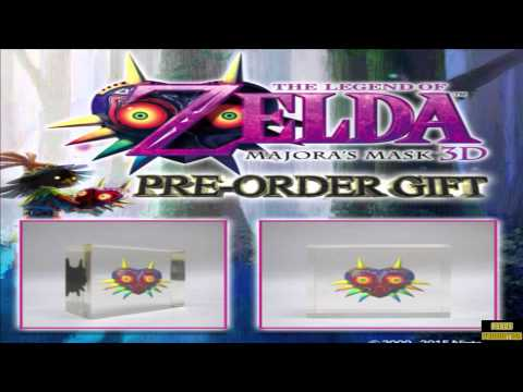 The Legend Of Zelda Majoras Mask 3D Best Pre Order Bouns Majoras Mask