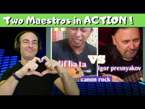 Alip Ba Ta & Igor Presnyakov – Canon Rock – Collaboration | Reaction 🇮🇱