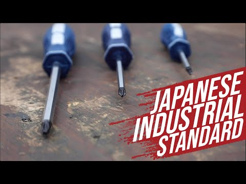 DCC Product Review: JIS Screwdrivers (Japanese Industrial Standard)
