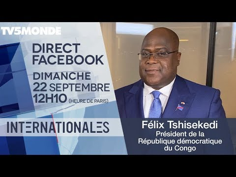 Félix Tshisekedi, président de la République démocratique du Congo - Internationales - TV5MONDE