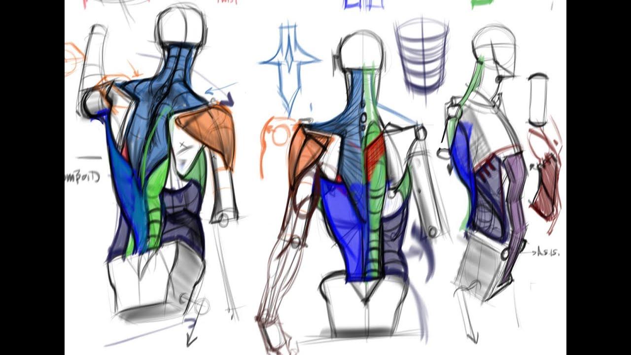 CGMA | Analytical Figure Drawing II Class with Michael ...
