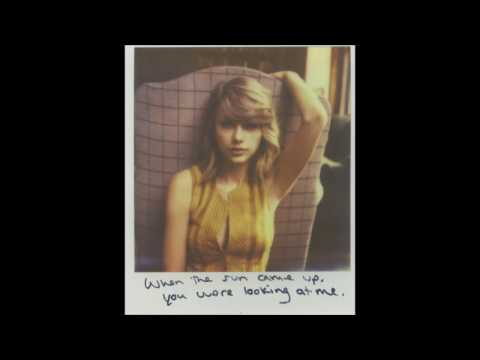TAYLOR SWIFT 1989 POLAROID COLLECTION!!! WITH SONGS.