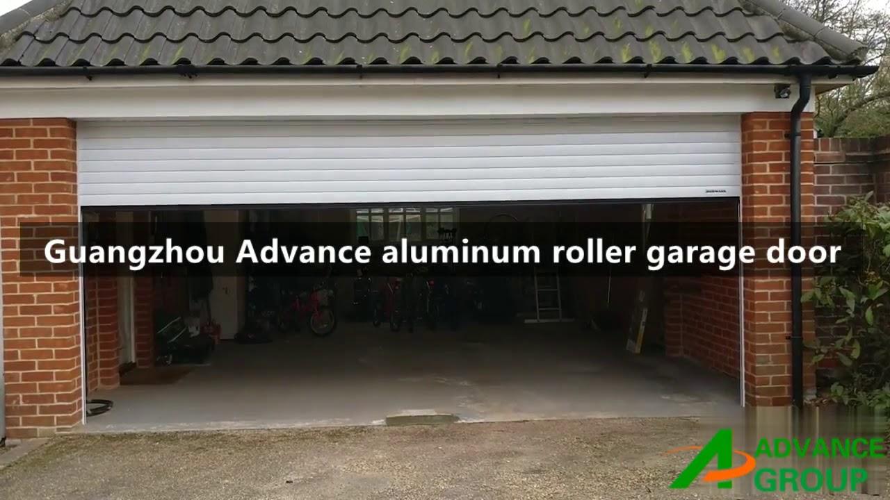 Aluminum Roller Garage Door  Guangzhou Advance Door