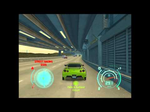 Need For Speed Undercover : Nissan GT-R  0-390 km'h