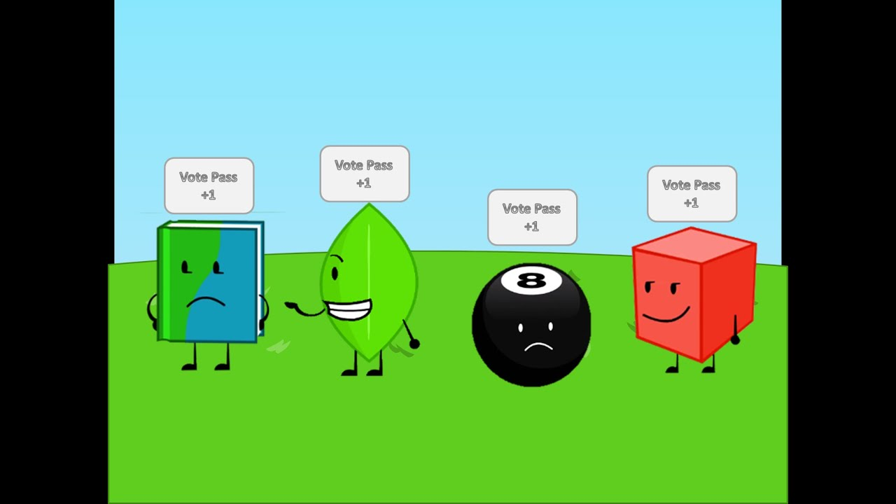 Group of Bfdi Ii Camp Season 1