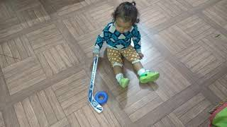 MANEET playing ice hockey...