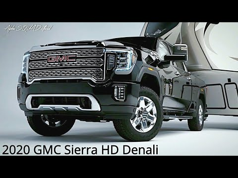 2020 GMC Sierra (Heavy Duty Denali 3500 and AT4)