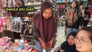 Ngantar istri belanja ke pasar purbolinggo