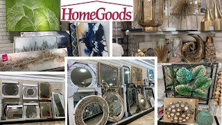 HomeGoods Home Decor | Unique Wall Decor Arts Mirrors | Shop With Me May 2019