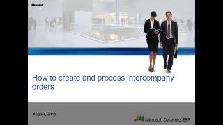 Microsoft Dynamics AX: Wie die Erstellung und Bearbeitung von Intercompany-Bestellungen