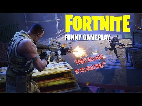 FORTNITE AIN'T READY FOR SAVAGES! ( FUNNY GAMEPLAY WITH ITSREAL85 & PU55NBOOT5!)