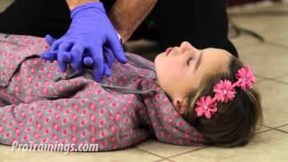 Unconscious Child Choking - Lay Rescuer thumbnail