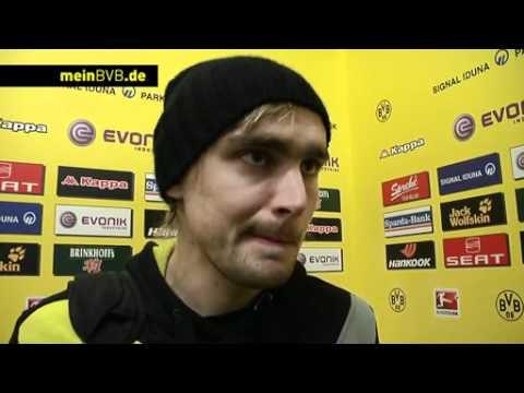 BVB - Gladbach: Freies Interview mit Marcel Schmelzer