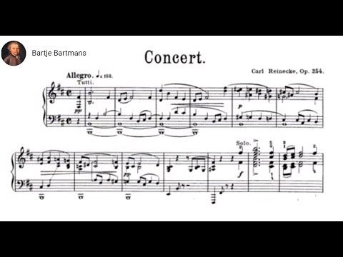 Carl Reinecke - Piano Concerto No. 4, Op. 254 (1901)