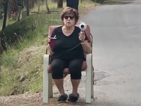 Walton And Johnson - Video - Grandma Uses Hairdryer To Stop Speeders On Her Street