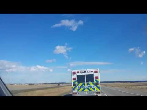Calgary Ambulance speeding