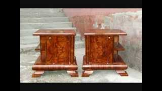 Art Deco Bedside Cabinets. Art Deco Nightstands.