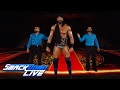 WWE Champion Jinder Mahal s jaw dropping entrance SmackDown LIVE, June 6, 2017