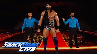 WWE Champion Jinder Mahal's jaw-dropping entrance: SmackDown LIVE, June 6, 2017