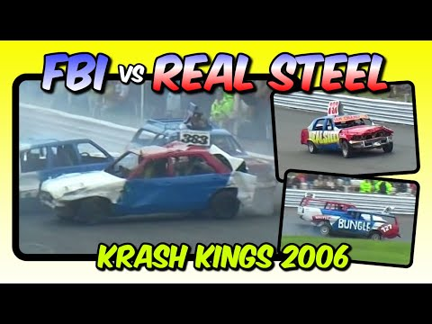Krash Kings - FBI v Real Steel - Hednesford 13 August 2006