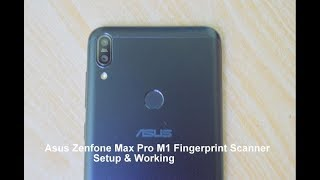 fingerprint Scanner working on Asus Zenfone 3 Laser (ZC551KL)