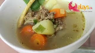 Ekor soup (Oxtail Soup)