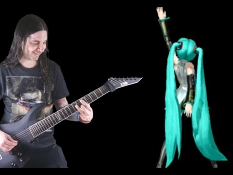 Hatsune Miku - World Is Mine Meets Metal