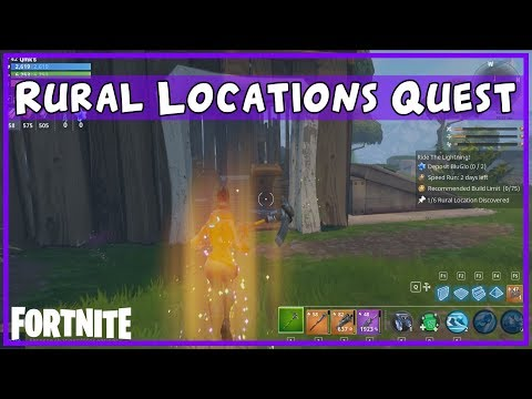 FORTNITE Guide - Discover rural locations daily quest with examples
