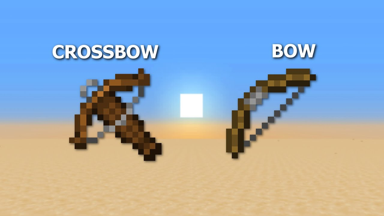 Crossbow VS. Bow (Which Is Better?) // Minecraft 1.14 - YouTube