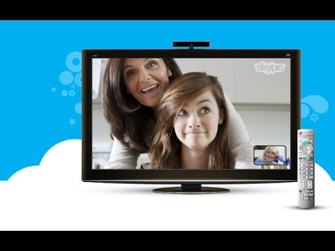 Skype on TV Share more on the big screen