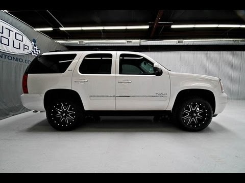 2011 GMC Yukon SLT 4X4 Lifted Truck 4 Sale - YouTube