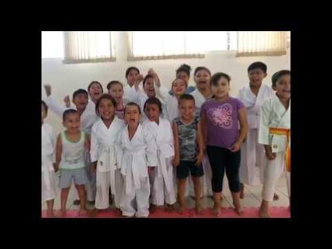 6 años de Karate Nahuizalco