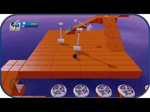 Disney Infinity 2.0 - REMOTE BOWLING - MARBLE MADNESS! - Toy Box - 24