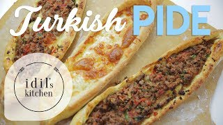 Turkish Pide Recipe 🍕🍕 BETTER THAN PIZZA