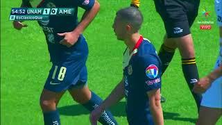Resumen   Pumas UNAM 1 - 0 América   LIGA Bancomer MX - Clausura 2019 - Jornada 7