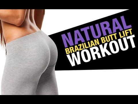 Natural Brazilian Butt Lift Workout (KILLER BOOTY EXERCISES!!)
