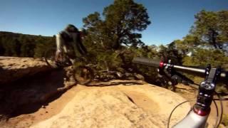 The Whole Enchilada - Moab Utah - Mt Biking - Gopro Hd