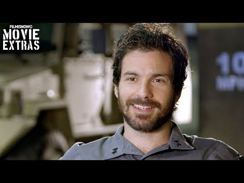 Transformers: The Last Knight  Onset visit with Santiago Cabrera 'Santos'