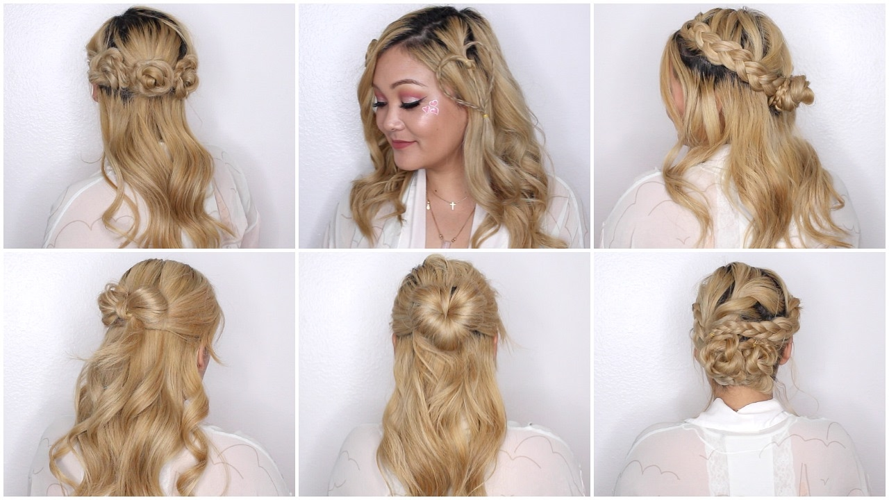 easy valentine day hairstyles