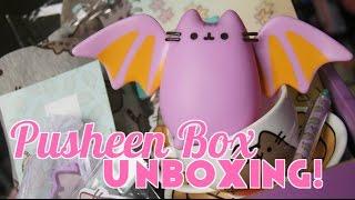 Pusheen Box Unboxing! Fall 2016