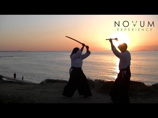 02 Ken tai jo ni - Aikido Novum Experience -合氣道 -武器技- 剣体杖二