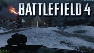 Battlefield 4 (SCAR H-SV) SNAJPER na Zimnych Wzgórzach