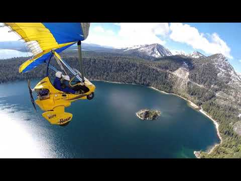 Hang Gliding Above Lake Tahoe - The best thing to do in Lake