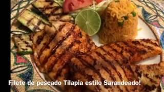 Receta filete tilapia estilo Zarandeado