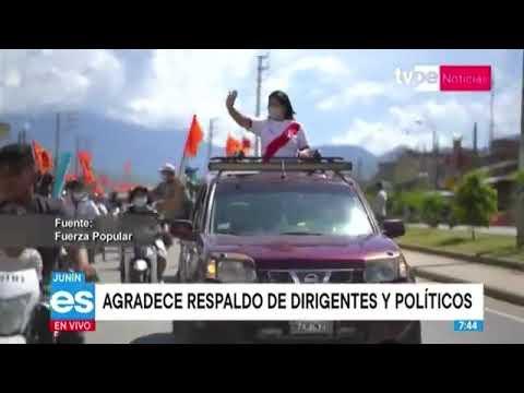 """Keiko Fujimori: """"Peruanos, no se dejen sorprender"""""""