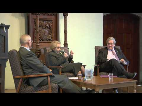 Student Panel Discussion with Dr. Madeleine Albright