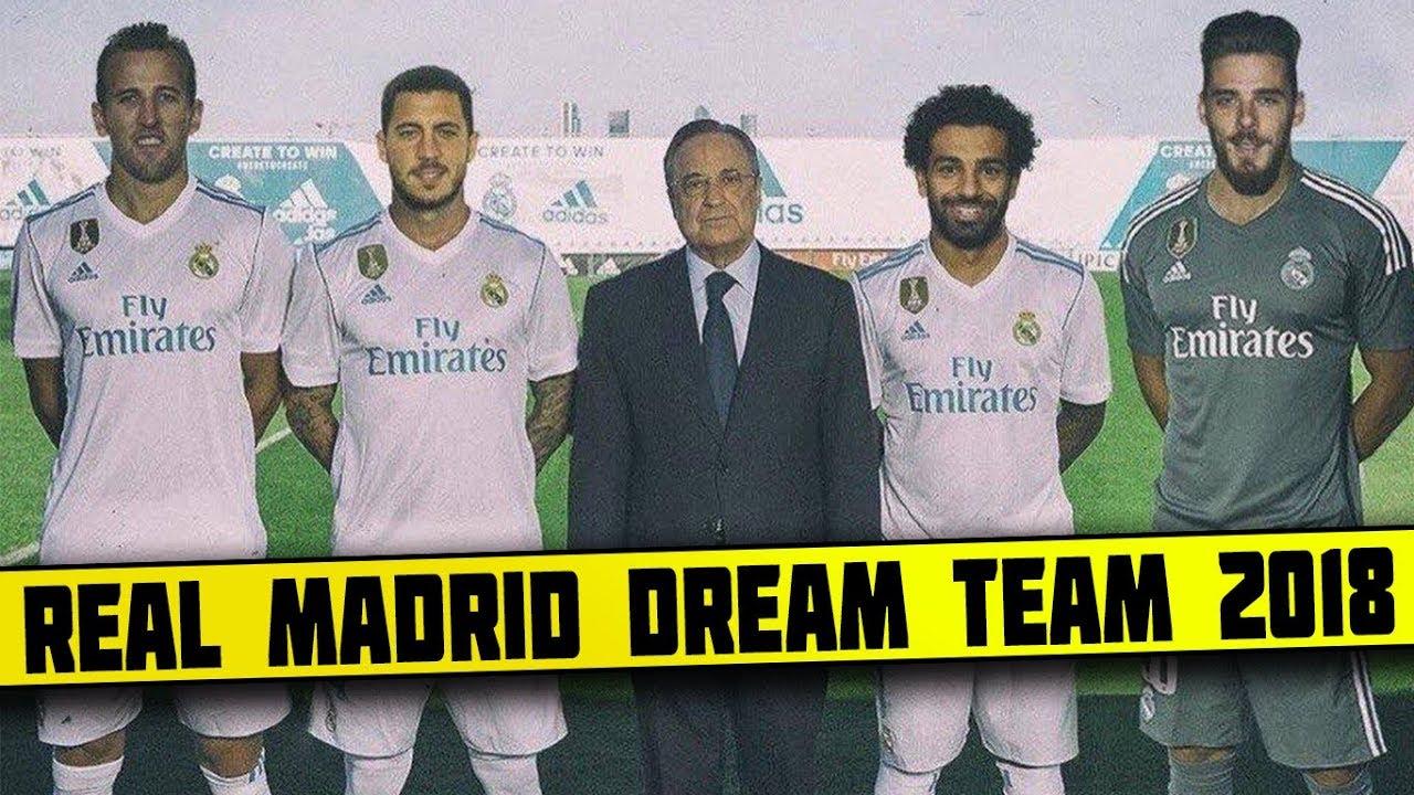 07f9932c8 Real Madrid DREAM Team Lineup 2018-19 With Potential TRANSFERS ft Neymar  Salah Ronaldo Hazard Kane
