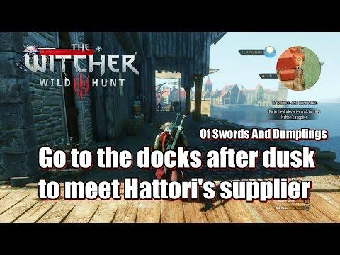 The Witcher 3 Wild Hunt Meet Hattori S Supplier Of Swords And
